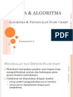 Pert 3 Definisi Dan Pengenalan Simbol Simbol Flowchart
