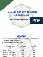 Anemia R3 Tutorial