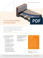 Jablite All in One Thermal Floor System Data Sheet