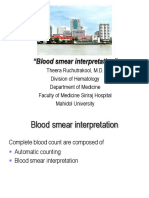 Blood Smear Interpretation