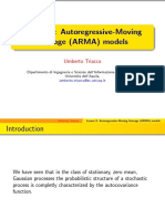 Autoregressive-Moving Average (ARMA) Models