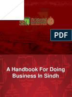 Sindh Investment Handbook