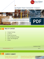 Four Ways Supply Chain Company Profile