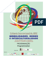 ARIC Programacao Detalhada Aric 2016