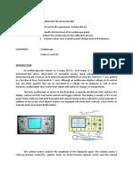 Calibration Oscilloscope