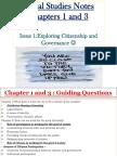 Social Studies Revision