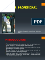 Diapositivas Ètica Profesional-Sem. 5