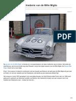 Ciaotutti.nl-een Duik in de Geschiedenis Van de Mille Miglia