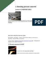 10 Reasons for Choosing Precast Concrete