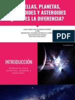 Estrellas Planetas Planetoides y Asteroides Cuál Es La Diferencia