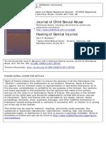 1. Healing of Genital Injuries