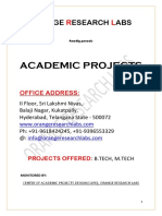 m.tech Projects Draft (1)
