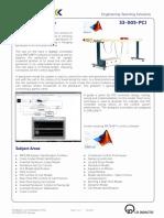 33-005-PCI Datasheet DigitalPendulum MATLAB 10 2013