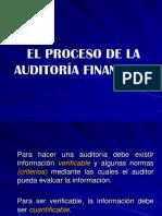 El Proceso de La Auditoría Financiera