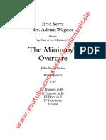 "Arthur et les Minimoy's ""The Minimoy's Overture"" (Eric Serra) arr. Adrian Wagner - Brass Quintet (Sheet Music) Arrangement"