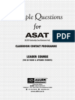 Sample Paper ASAT Leader
