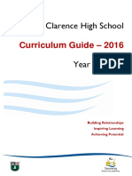 Curriculum Guide Year 9 and 10 2016