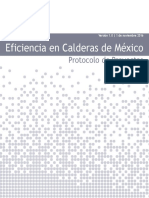 Mexico Boiler Efficiency Project Protocol V1.0 Espanol