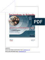 Technology in Schools What Research Says