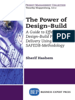 (Project Management Collection) Sherif Hashem, PMI, PMP, Project Management Consultant PhD-The Power of Design-build _ a Guide to Effective Design-build Project Delivery Using the SAFEDB-methodology-B
