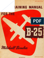 USAAF Bomber B-25 Pilot Training Manual