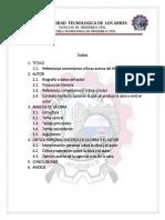 Monografia de La Obra Uselo y Tirelo