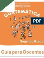 GUÍA DE MATEMÁTICAS PARA EL PROFESOR DE 2o GRADO