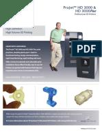 ProJet HD 3000 Brochure USEN