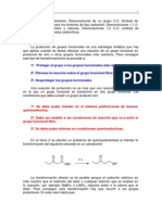 grupos protectores en química orgánica