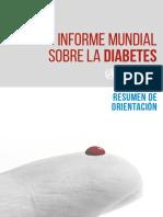 Informe Mundial Sobre Diabetes