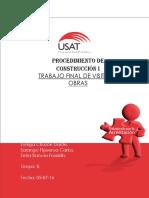 Control de Calidad y Diseño de Mezclas Informe
