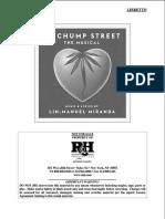 21 Chump Street Libretto PDF