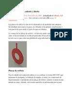 Placas de Orificio, Calculo y Diseño