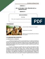 LITERATURA DE LA COLONIA Y DEL PROCESO DE LA EMANCIPACIÓN