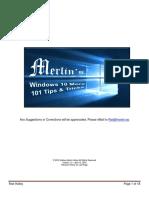 !Merlin's Windows 10 More - 101 Tips & Tricks V1-5