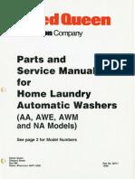 Speed Queen -Service Manual (33711)