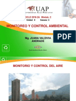 Monitoreo calidad del aire
