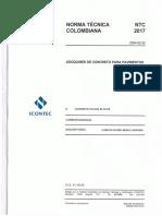 NTC 2017 Adoquines de Concreto