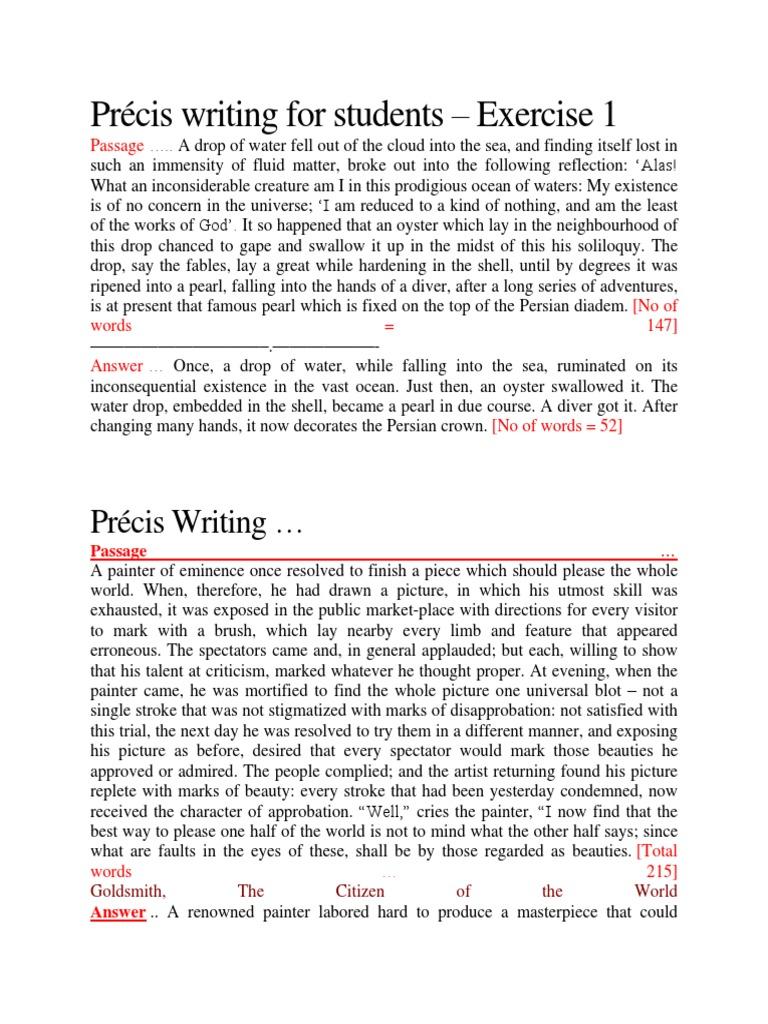 Precis Writing Exampe Religion And Belief [ 1024 x 768 Pixel ]