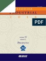 Dados Do IBGE PIA-produtos 2014