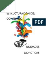 Estructura de Contenido y Unidad Didactica