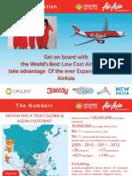AirAsia Branding RateCard 2015