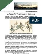 Pastor Bill Kren's Newsletter - June 25, 2017