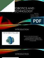 Nanorobotics and nanotechnology.pptx