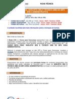 Formatacao Mpu Area Administrativa 1