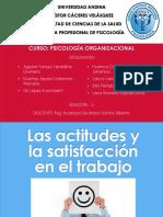 Actitudes y Satisfacción Laboral