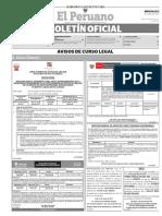 Diario Oficial El Peruano, Edición 9733. 21 de junio de 2017