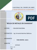 Bolsa de Metales y Valores de Shanghai
