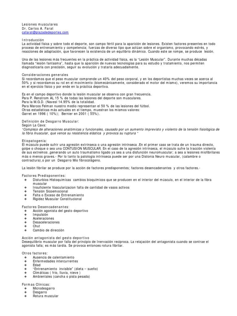 Art) Carlos A. Farat - Lesiones Musculares.pdf