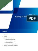 KPMG Auditing IT General Controls